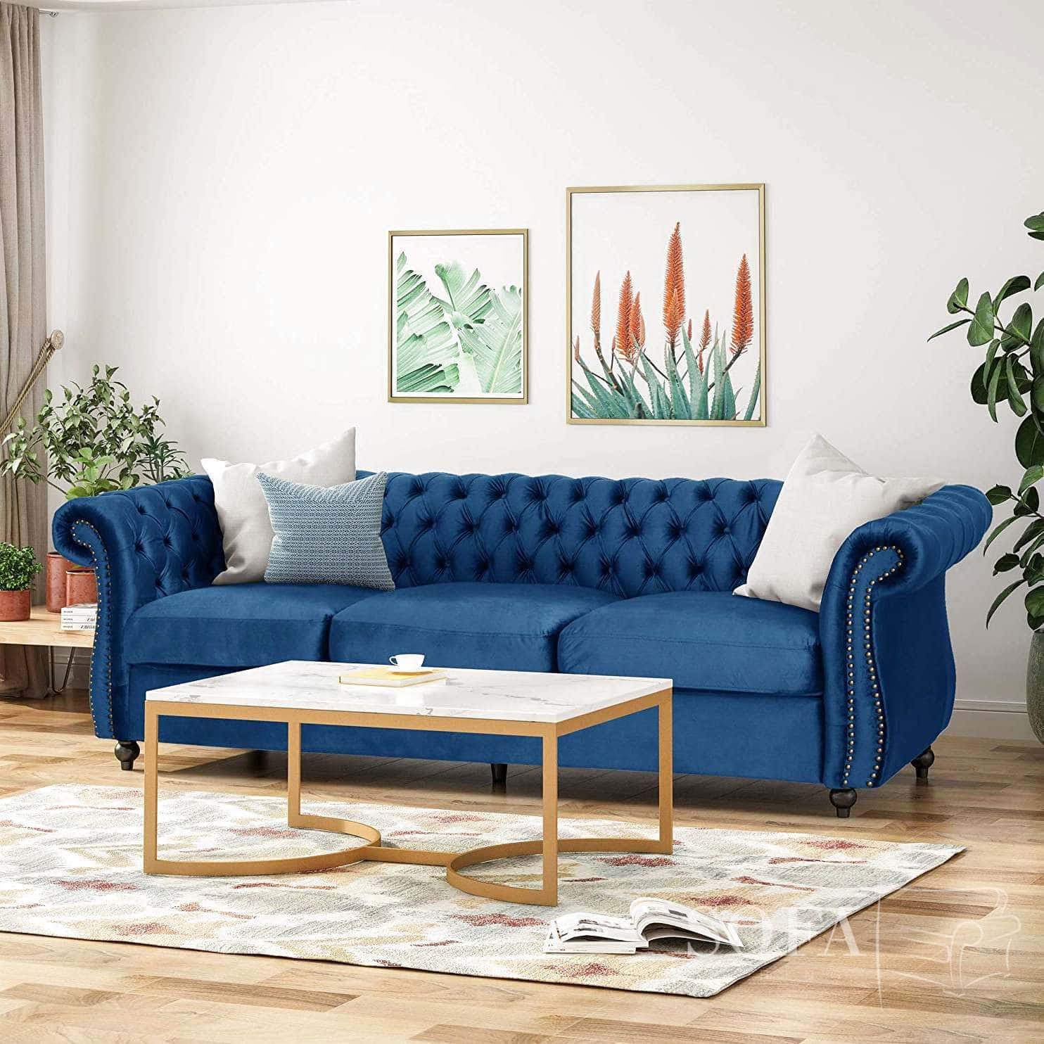 Best Dark Blue Sofas Our Top 5 High Quality Blue Sofas